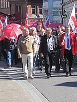 Maikundgebung 2011 in Lüneburg – Foto: Marco Sievers