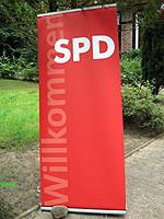 SPD-Banner – Foto: Marco Sievers