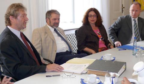 Foto: Manfred Nahrstedt, Ulrich Mädge, Monika Griefahn und Michael Neumann