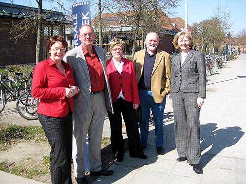 Daniela Behrens, Wolfgang Laudan, Hiltrud Lotze, Winfried Harendza und Andrea Schröder-Ehlers (v.l.n.r.) – Foto: Marco Sievers