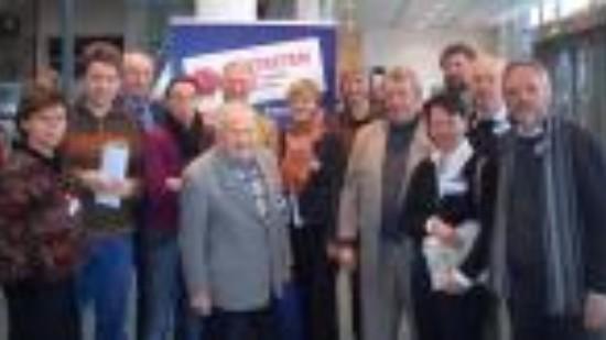 Lüneburger Delegierte bei der Regionalkonferenz in Bremen