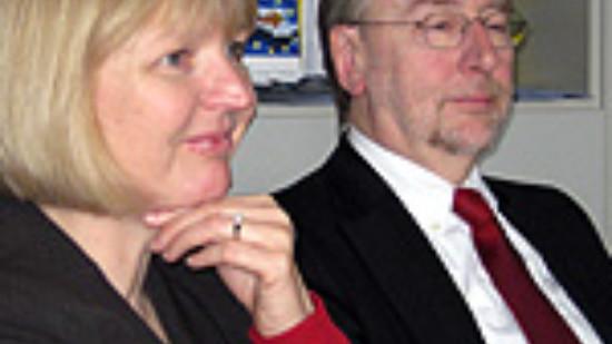 Andrea Schröder-Ehlers, MdL, und Bernd Lange, MdEP – Foto: Marco Sievers