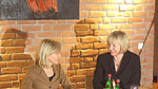 Doris Schröder-Köpf und Andrea Schröder-Ehlers – Foto: Marco Sievers