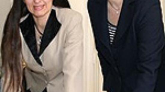 Foto: Kirsten Lühmann (l.) und Andrea Schröder-Ehlers