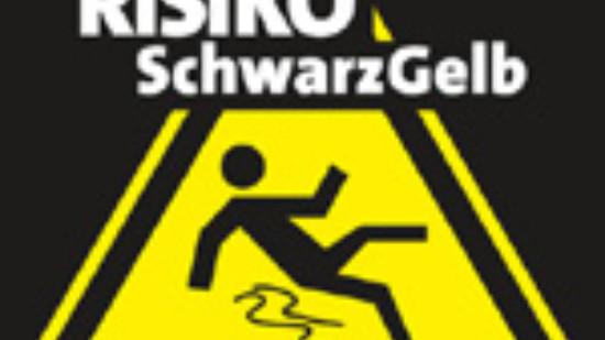Logo: Risiko Schwarz-Gelb
