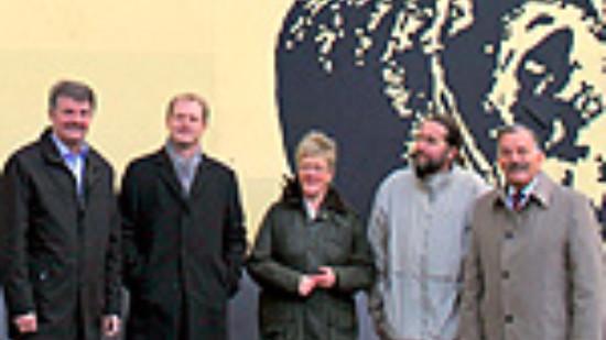 Foto: SPD-Mitglieder auf Urban-Art-Tour
